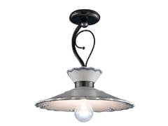 Lampada a sospensione a luce diretta in ceramicaRAVENNA | Lampada a sospensione in ceramica - FERROLUCE