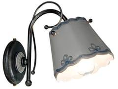 Applique in ceramica con braccio fissoRAVENNA | Applique - FERROLUCE