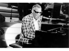 Stampa fotograficaRAY CHARLES AL PIANO NEL 1982 - ARTPHOTOLIMITED