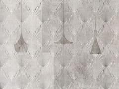 Carta da parati a motivi geometrica in fibra di vetroRAYS - TECNOGRAFICA