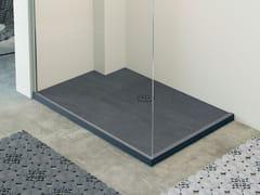 Piatto doccia rettangolare con bordo rialzato RAZOR | Piatto doccia rettangolare - Showering