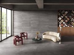Pavimento/rivestimento in gres porcellanato effetto cementoRE-PLAY CONCRETE DARK GREY - PROVENZA BY EMILGROUP