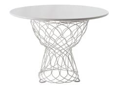 Tavolo da giardino rotondo in acciaio RE-TROUVÉ | Tavolo rotondo - Re-Trouvé