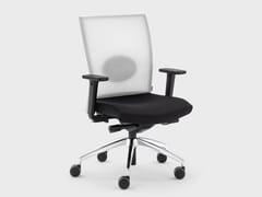 Sedia ufficio girevole reclinabile in tessutoQUEEN MESH | Sedia ufficio reclinabile - VIGANÒ & C.
