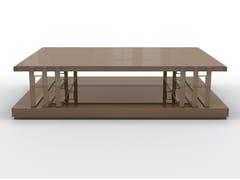 Tavolino basso rettangolare in multistratoSTAN | Tavolino rettangolare - BRUNO ZAMPA