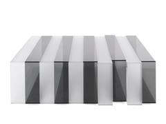Tavolino rettangolare in vetroJENGA | Tavolino rettangolare - JUMBO GROUP