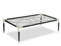Tavolino da giardino rettangolare in acciaio inoxDAVOS   Tavolino rettangolare - INDIAN OCEAN