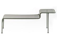 Tavolino rettangolare in acciaioWORK IS OVER | Tavolino rettangolare - MOROSO