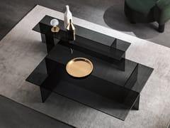 Tavolino da caffè rettangolare in vetroSESTANTE | Tavolino rettangolare - T.D. TONELLI DESIGN