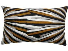 Cuscino rettangolare ricamato in cotoneSASHA | Cuscino rettangolare - VIVARAISE