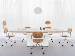 Tavolo da riunione rettangolare in nobilitato GRAVITY | Tavolo da riunione rettangolare - Gravity