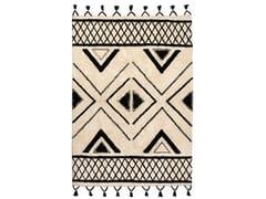 Tappeto rettangolare in cotone a motivi geometriciSAMI | Tappeto rettangolare - VIVARAISE
