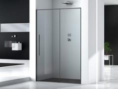 Box doccia a nicchia rettangolare in vetroZEN | Box doccia rettangolare - MEGIUS