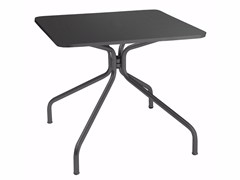 Tavolo rettangolare in acciaio SOLID | Tavolo rettangolare - Solid