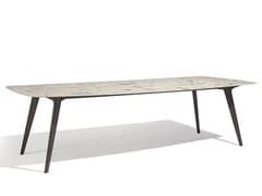 Tavolo da giardino rettangolare in ceramica TORSA | Tavolo rettangolare - Torsa
