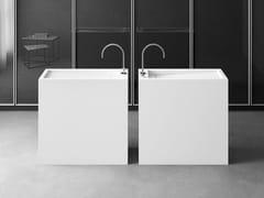 Lavabo freestanding rettangolare singoloFS | Lavabo rettangolare - ABSARA INDUSTRIAL