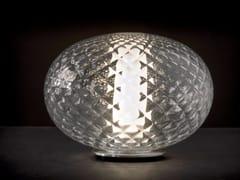 Lampada da tavolo a LED in alluminio e vetroRECUERDO - 284 - OLUCE