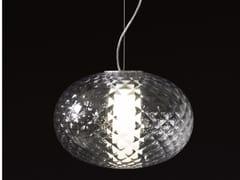 Lampada a sospensione a LED in alluminio e vetroRECUERDO - 484 - OLUCE