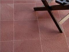 Pavimento/rivestimento in pietra naturale per interniRED SANDSTONE HONED - STONE AGE PVT. LTD.