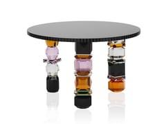 Tavolino rotondo in cristalloREFLECTIONS COPENAGHEN - ORLANDO - ARCHIPRODUCTS.COM