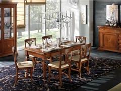 Tavolo rettangolare in legno massello REGINA | Tavolo rettangolare - Regina