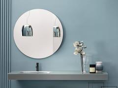 Piano lavabo singolo in vetroREGOLO COLORS - ARTELINEA