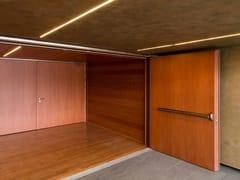 Porta antipanico in legnoREI 120 | Porta antipanico - SEBINO CHIUSURE