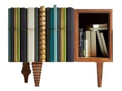 Comodino rettangolare in legno con cassettiREINA | Comodino - LOLA GLAMOUR