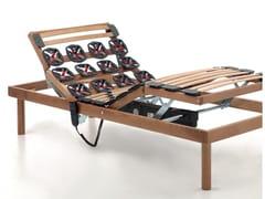 Rete a doghe elettrica in legno con ammortizzatoriRELAX PLUS | Rete con ammortizzatori - RAMA
