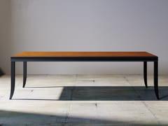 Tavolo rettangolare in legno RELIEF | Tavolo rettangolare - Relief