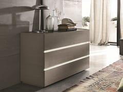 Cassettiera in legno con maniglie integrateREPLAY | Cassettiera in legno - TOMASELLA IND. MOBILI