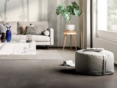 Pavimento/rivestimento in gres porcellanato effetto cementoRES ART MUD - CERAMICA FONDOVALLE