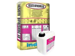 Rasante polimerico per la protezione impermeabile del clsRESISTO BIFINISHING AB - INDEX