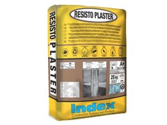 INDEX, RESISTO PLASTER Malta tissotropica