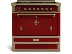 Cucina a libera installazione in acciaioRESTART ELG090_B1 - OFFICINE GULLO