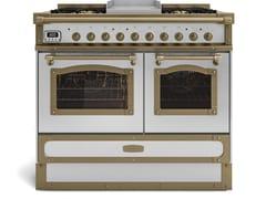 Cucina a libera installazione in acciaioRESTART ELG100_G2 - OFFICINE GULLO