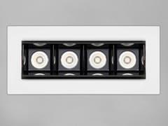 Barra a LED in alluminio anodizzatoRETICOLO 4 - PURALUCE