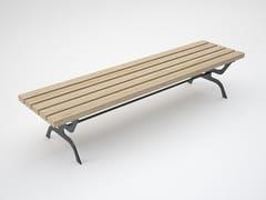 Panchina in legno senza schienale RETRÒ | Panchina senza schienale -