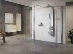 Colonna doccia a parete multifunzione in acciaio inoxREVIF PLUS - NOVELLINI