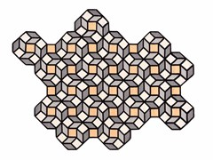 Tappeto in lana a motivi geometrici RHOMB - Kilim