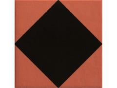 Pavimento/rivestimento in gres porcellanato smaltatoRHOMBUS BLACK - MUTINA