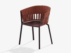 Sedia da giardino in alluminio e tessuto con braccioliRIA | Sedia - FAST