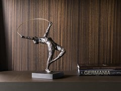 Scultura in bronzo RIBBON DANCER - GARDECO