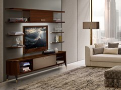 Mobile TV in legno con ante a ribaltaRICHMOND UPON THAMES | Mobile TV - BARNINI OSEO
