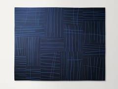 Tappeto quadrato in feltro a motivi geometrici RILIEVO | Tappeto quadrato - Feltro