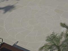 Pavimento per esterni carrabile in pietra naturaleRIMINI MIRAGE ELEGANCE CIRCLE - STONE AGE PVT. LTD.