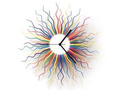 Orologio in compensato da pareteMEDUSA - ARDEOLA