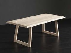 Tavolo da pranzo rettangolare in legno RIO + FLAT - ECOLAB 2