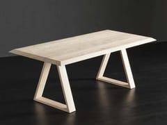 Tavolo da pranzo rettangolare in legno RIO + MEKANO - ECOLAB 2