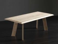 Tavolo da pranzo rettangolare in legno RIO + STREET - ECOLAB 2